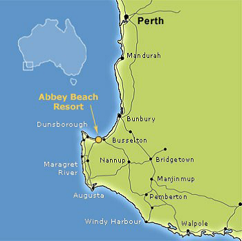 Abbey Beach Resort Map